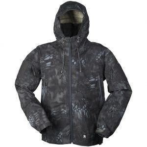 Mil-Tec giacca traspirante hardshell in Mandra Night