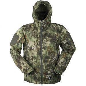 Mil-Tec giacca traspirante hardshell in Mandra Wood