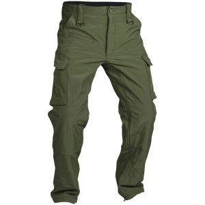 Mil-Tec pantaloni softshell Explorer in verde oliva