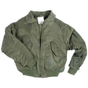 Mil-Tec giacca da pilota CWU US in verde oliva
