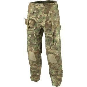 Mil-Tec pantaloni Warrior con ginocchiere in Arid Woodland
