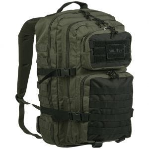 Mil-Tec zaino da assalto US large in Ranger Green/nero