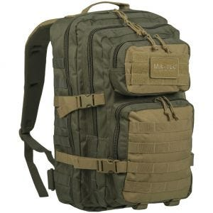 Mil-Tec zaino da assalto US large in Ranger Green/Coyote