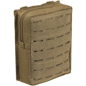 Mil-Tec Laser Cut Belt Pouch Large Dark Coyote