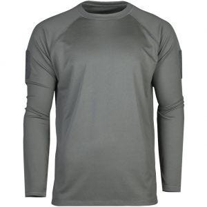 Mil-Tec Tactical Long Sleeve Quick Dry Shirt Urban Grey