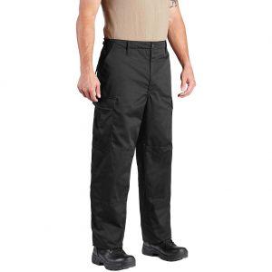 Propper pantaloni BDU con patta a bottoni in twill di policotone in nero