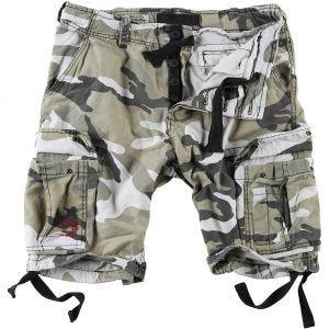 Surplus shorts vintage effetto slavato Airborne in Urban
