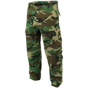 Teesar pantaloni Combat ACU in Woodland
