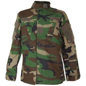 Teesar camicia Combat ACU in Woodland