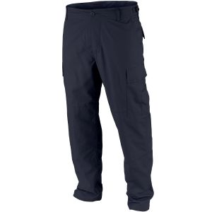 Teesar pantaloni BDU in ripstop in Navy Blue