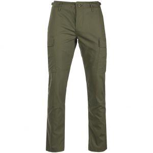 Teesar US BDU Trousers Ripstop SlimFit Olive