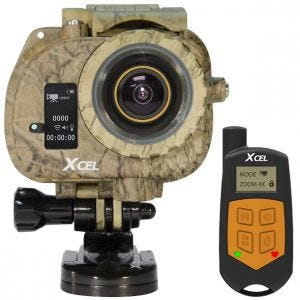 Xcel videocamera HD2 Hunting Edition in nero