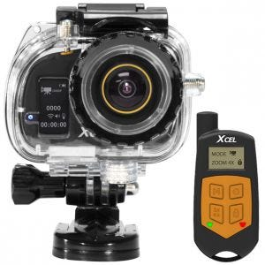 Xcel videocamera HD2 Sport Edition in nero