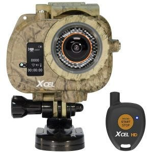 Xcel videocamera HD Hunting Edition in Carbon