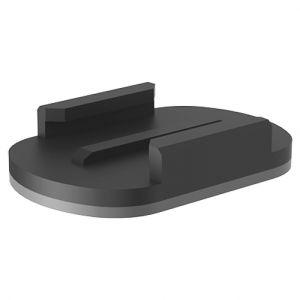 Xcel supporti adesivi piatti in nero