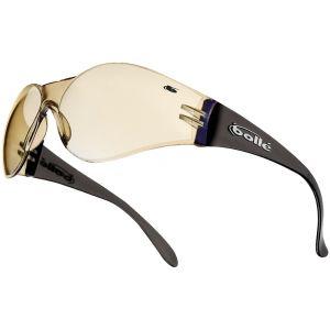 Bollé occhiali protettivi Bandido lenti blu a specchio montatura marrone