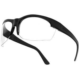 Bollé occhiali Super Nylsun III lente trasparente montatura nera