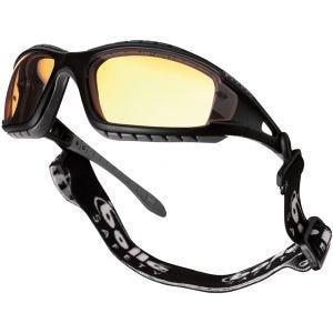 Bollé occhiali Tracker lente gialla montatura nera