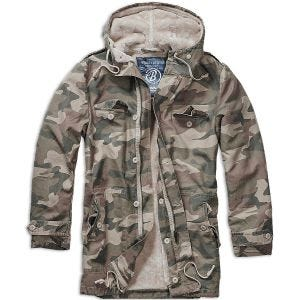 Brandit parka BW in Light Woodland