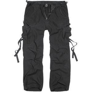 Brandit pantaloni M-65 Vintage in nero