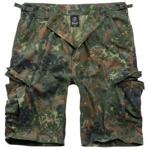 Brandit pantaloni corti BDU in Flecktarn