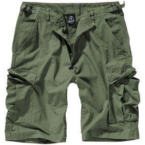 Brandit pantaloni corti BDU in Oliva