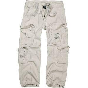 Brandit pantaloni Pure Vintage in Old White