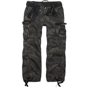 Brandit pantaloni Royal Vintage in Dark Camo