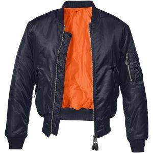Brandit giacca MA1 in Dark Navy