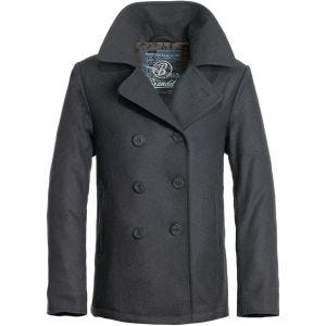 Brandit cappotto Caban in Anthracite