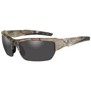 Wiley X occhiali Valor con lenti fumé grigie e struttura in Realtree Xtra Camo