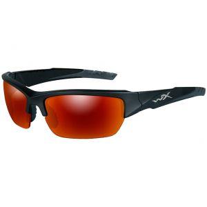 Wiley X occhiali Valor con lenti polarizzate a specchio Crimson e struttura in 2 tonalità di nero