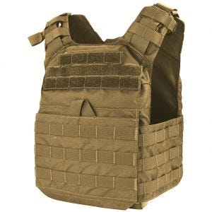 Condor plate carrier Cyclone in Coyote Brown