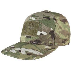 Condor cappello con retro regolabile e visiera piatta in MultiCam