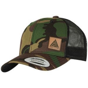 Direct Action Retro Trucker Cap Woodland/Black
