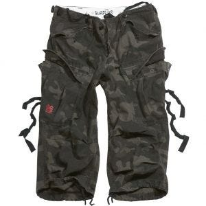Surplus shorts Engineer Vintage 3/4 in Black Camo