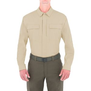 First Tactical camicia BDU Tactix a maniche lunghe uomo in cachi