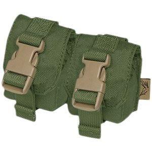 Flyye tasca doppia porta bombe a mano in Olive Drab