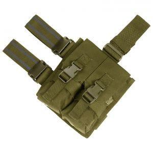 Flyye doppio portacaricatore cosciale M4/M16 in Coyote Brown