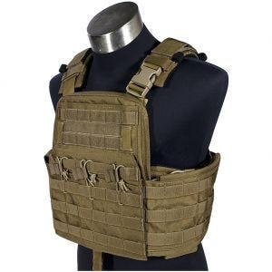 Flyye Plate Carrier compatto Field Compact in Coyote Brown