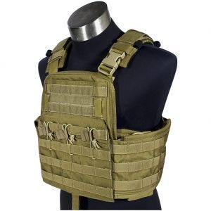 Flyye Plate Carrier compatto Field Compact in cachi
