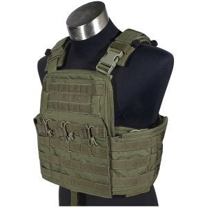 Flyye Plate Carrier compatto Field Compact in Ranger Green