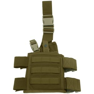 Flyye fondina cosciale SpecOps Seals MOLLE in Coyote Brown