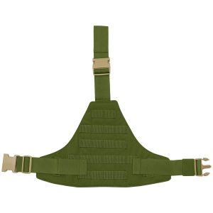 Flyye pannello cosciale triangolare MOLLE in Olive Drab