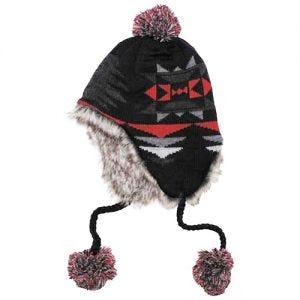 Fox outdoor berretto Peru Ica in nero/rosso