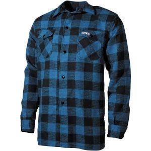 Fox Outdoor camicia Lumberjack a scacchi blu/nero