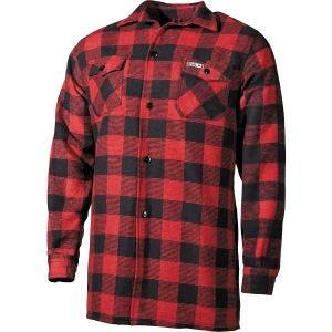 Fox Outdoor camicia Lumberjack a scacchi rosso/nero