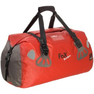 Fox Outdoor borsone impermeabile DRY PAK 40 in rosso