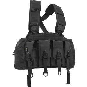 Hazard 4 imbracatura chest rig per equipaggiamento fucile da assalto in nero