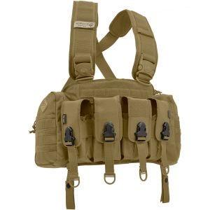 Hazard 4 imbracatura chest rig per equipaggiamento fucile da assalto in Coyote
